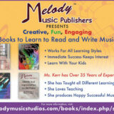Melody Music Studios Books – the Complete Spectrum of Keyboard Instruction